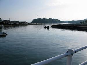 朝の土々呂港
