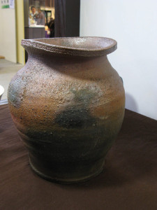 炭化焼き〆壺