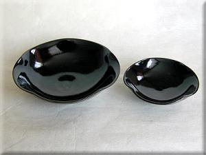 梅鉢と小皿